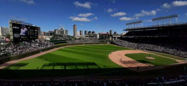 Wrigley Field, section: 307L, row: 2, seat: 8