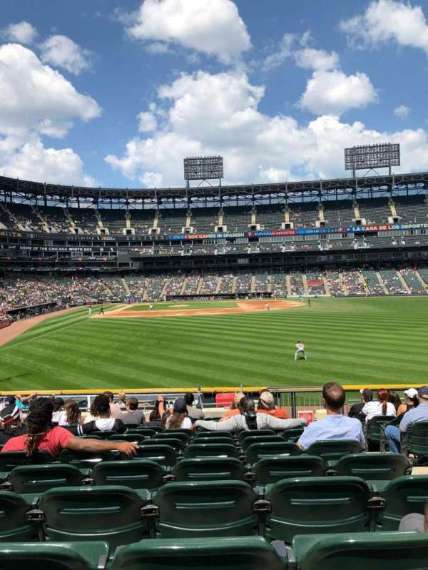 Guaranteed Rate Field, section: 106, row: 20, seat: 3