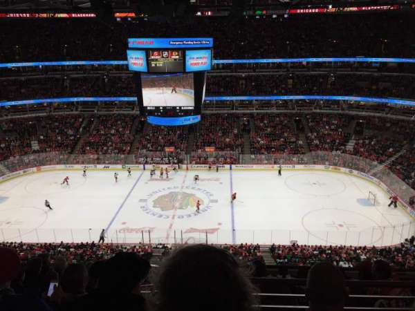 United Center, section: 317, row: 2, seat: 11