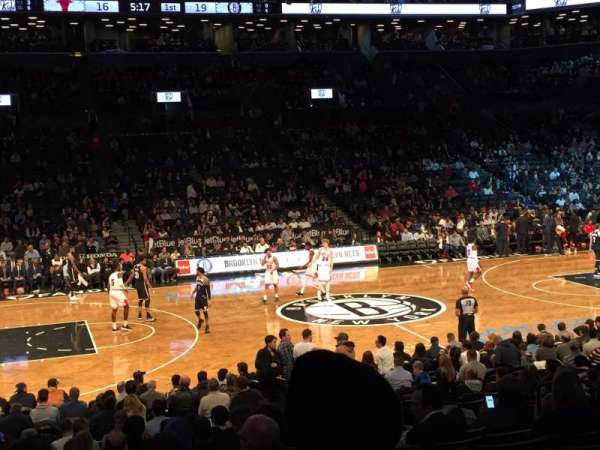 Barclays Center, section: 25, row: 16, seat: 11