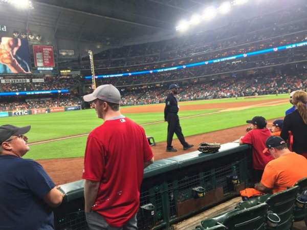 Minute Maid Park, section: 109, row: 3, seat: 2
