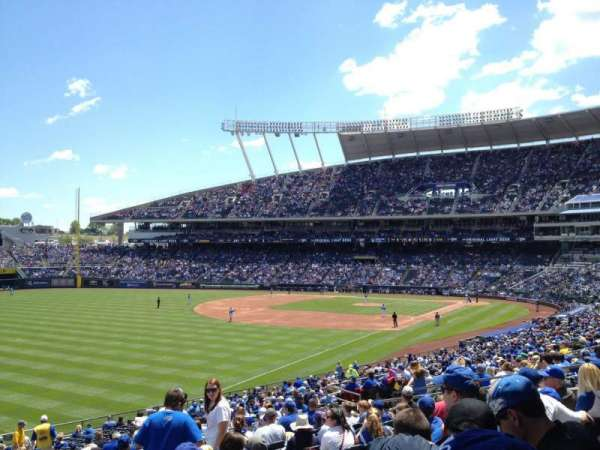 Kauffman Stadium, section: 209, row: NN, seat: 7