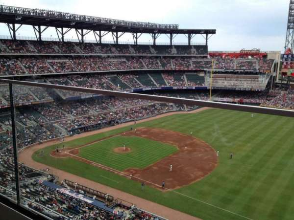 SunTrust Park, section: 415, row: 1, seat: 10