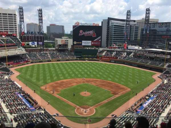 SunTrust Park, section: 426, row: 6, seat: 12