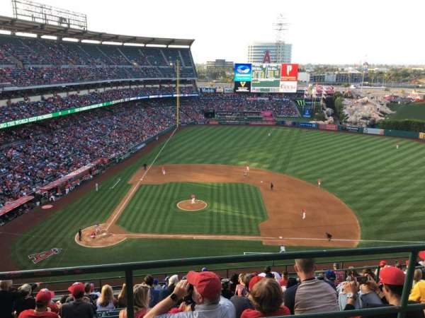 Angel Stadium, section: V527, row: A, seat: 1