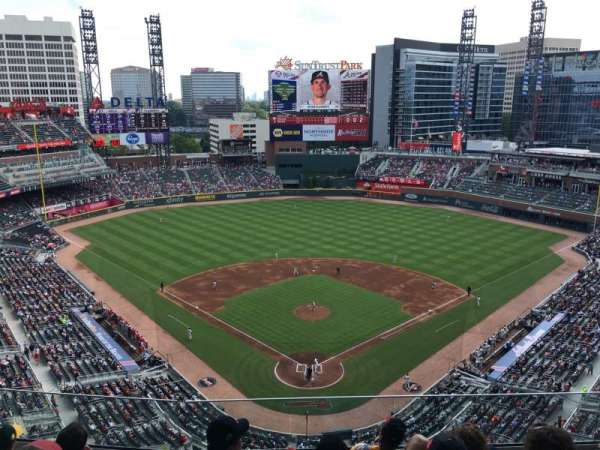 SunTrust Park, section: 426, row: 6, seat: 9
