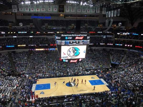 American Airlines Center, section: 327, row: G, seat: 7