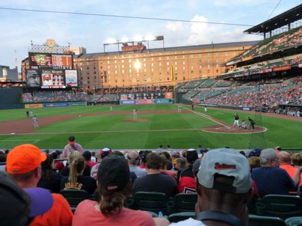 Oriole Park at Camden Yards, section: 48, row: 13, seat: 8