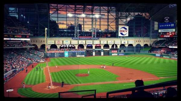 Minute Maid Park, section: 222, row: 7, seat: 16