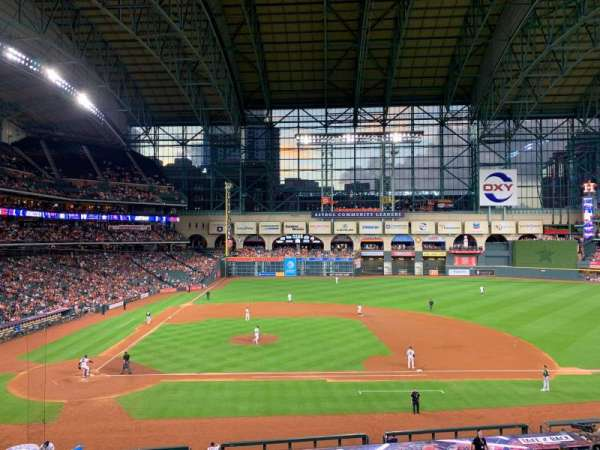 Minute Maid Park, section: 224, row: 1, seat: 15