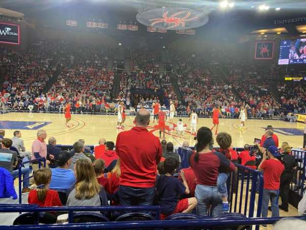 Robins Center, section: 6, row: C, seat: 14