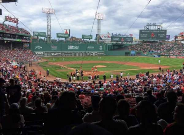 Fenway Park, section: Grandstand 19, row: 7, seat: 15