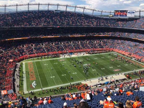 Broncos Stadium at Mile High, section: 538, row: 23, seat: 24