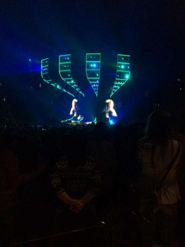 Barclays Center, section: 10, row: 3, seat: 2