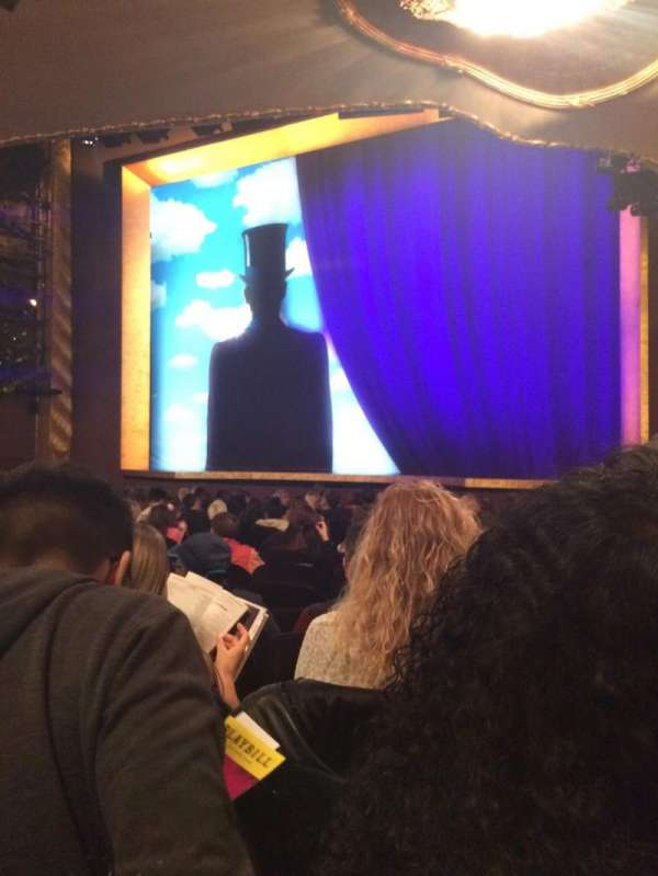 Lunt-Fontanne Theatre, section: Orchestra R, row: R, seat: 16