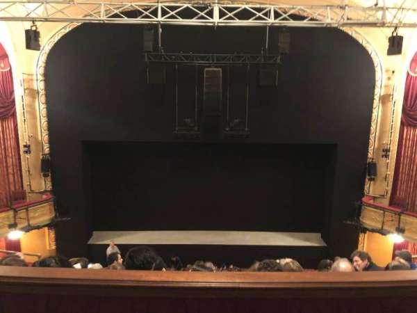 Bernard B. Jacobs Theatre, section: Mezzanine C, row: E, seat: 107