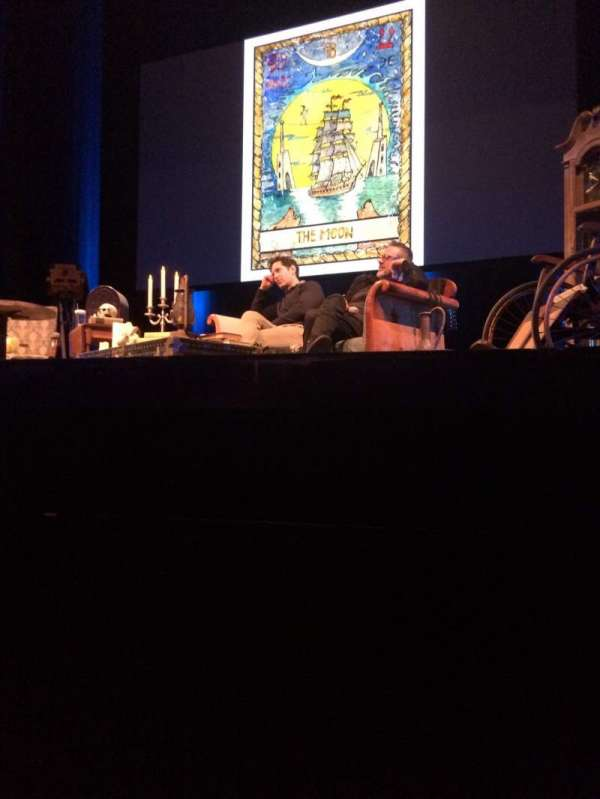 Sosnoff Theater at the Fisher Center, section: Orchestra, row: BB, seat: 2