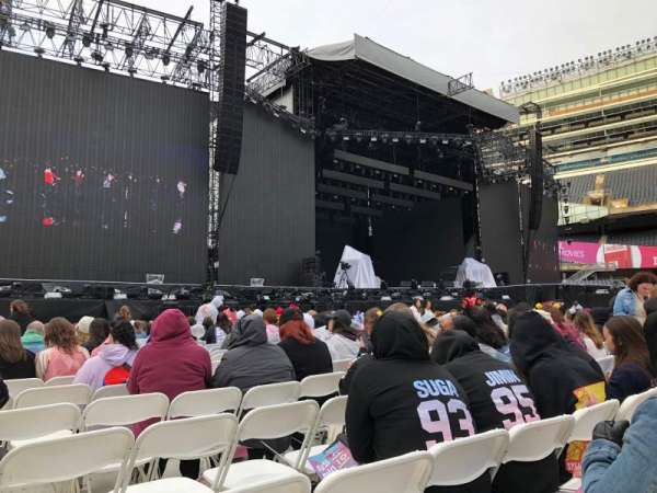 Soldier Field, section: A6, row: 21, seat: 18