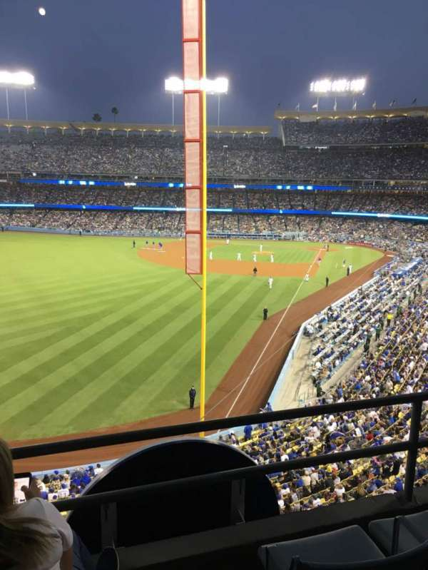 Dodger Stadium, section: 257 Club, row: C, seat: 5