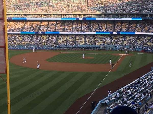 Dodger Stadium, section: 255 Club, row: B, seat: 3