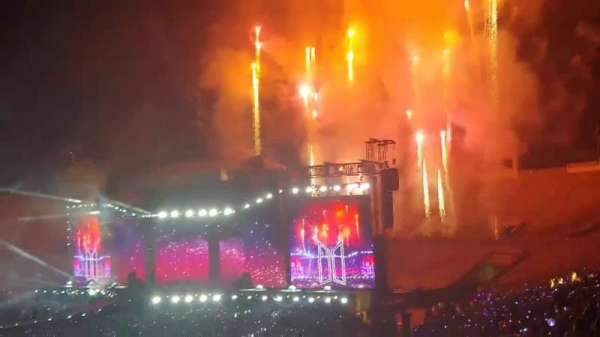 Video from Rose Bowl