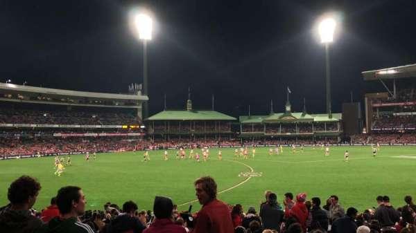 Sydney Cricket Ground, section: 12, row: Y, seat: 9