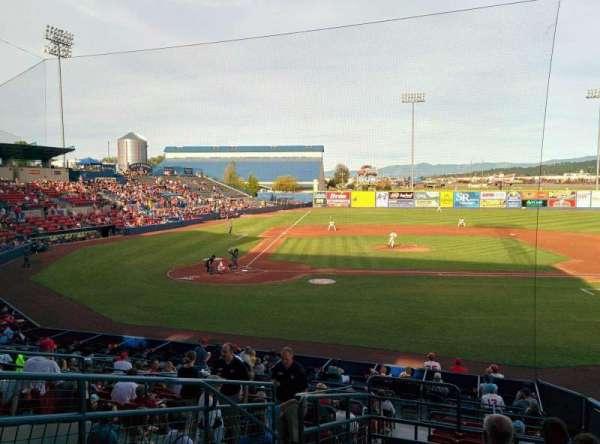 Avista Stadium, section: L, row: 8, seat: 2