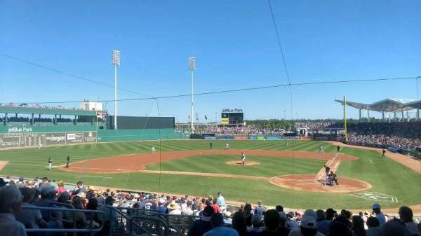 JetBlue Park, section: 204, row: 9, seat: 17