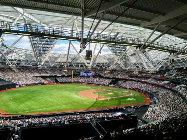 London Stadium, section: 254, row: 46, seat: 785