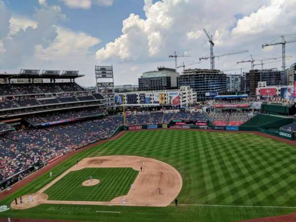 Nationals Park, section: 420, row: A, seat: 12