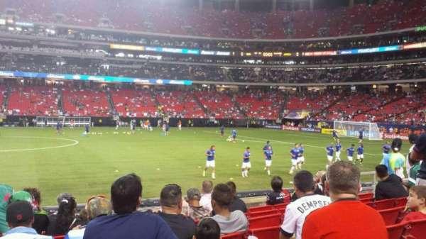 Georgia Dome, section: 135, row: 8, seat: 6
