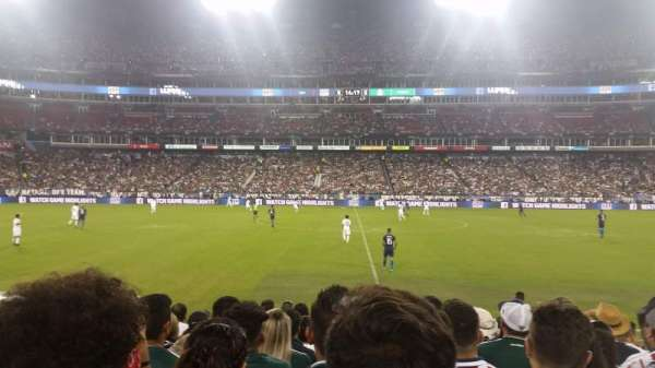 Nissan Stadium, section: 135, row: H, seat: 15