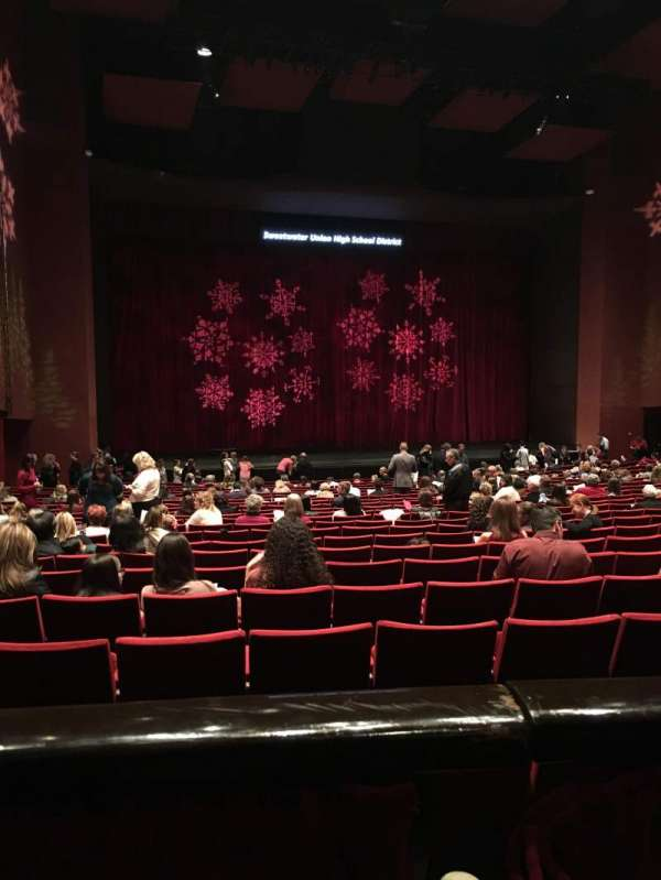 San Diego Civic Theatre, section: Dress Circle, row: A, seat: 29