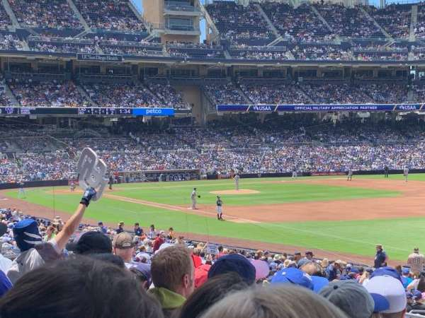 Petco Park, section: 119, row: 32, seat: 12
