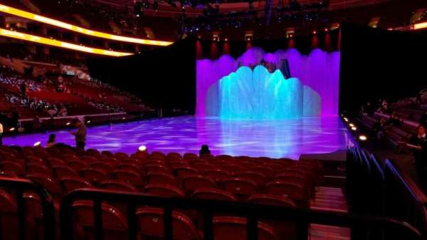Wells Fargo Center, section: 108, row: 1, seat: 10