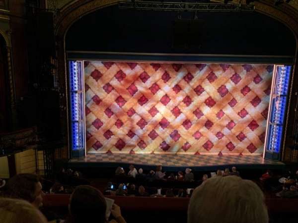 Brooks Atkinson Theatre, section: Front Mezzanine C, row: C, seat: 103