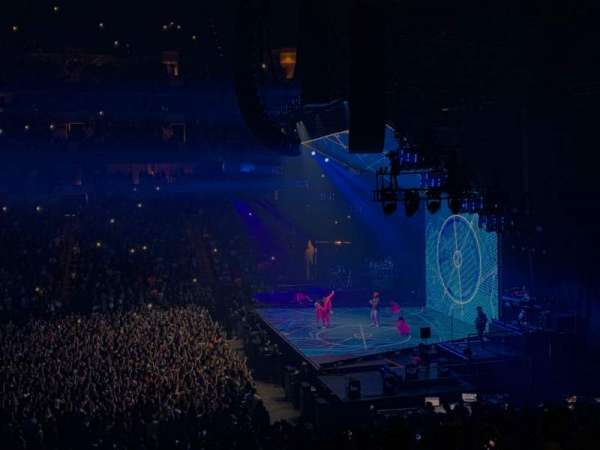 American Airlines Center, section: 105, row: Z, seat: 12