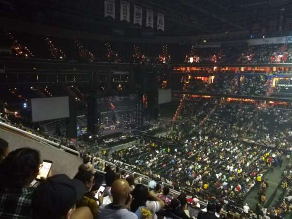 Capital One Arena, section: 201, row: L, seat: 10