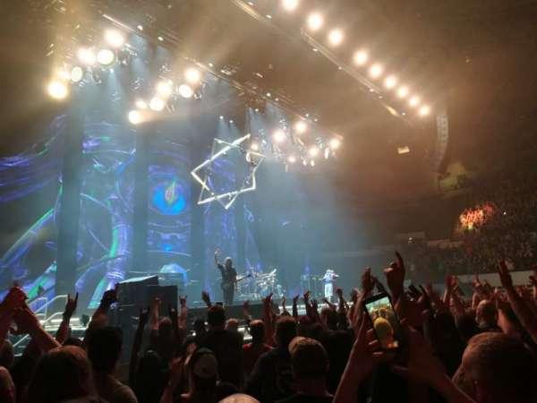Hampton Coliseum, section: Floor A, row: 6, seat: 17