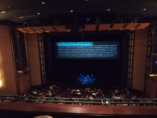 The Kennedy Center Eisenhower Theater, section: Balcony, row: C, seat: 103