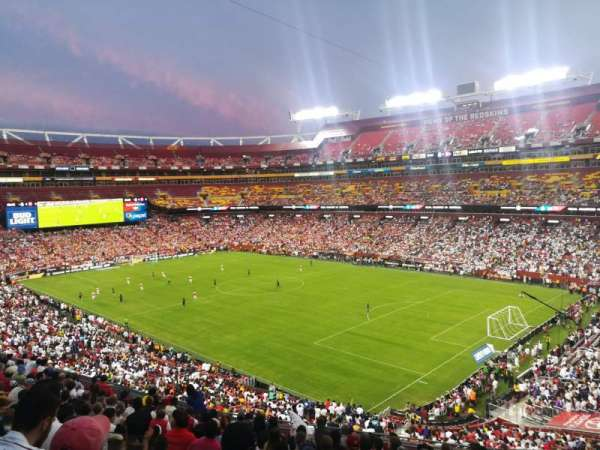 FedEx Field, section: 316, row: 13, seat: 11