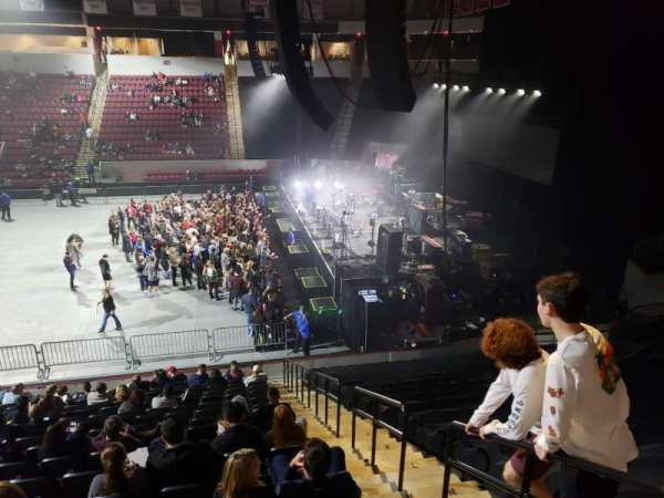 Agganis Arena, section: 102, row: Q, seat: 2