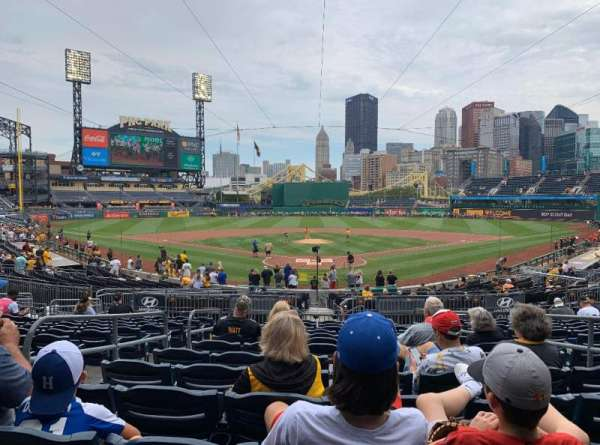 PNC Park, section: 116, row: N, seat: 5