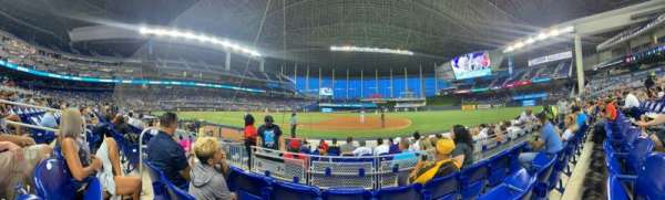 LoanDepot Park, section: 7, row: C, seat: 19