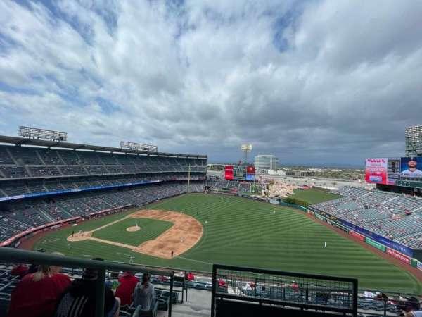 Angel Stadium, section: V531, row: J, seat: 1