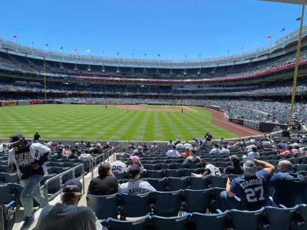 Yankee Stadium, section: 134, row: 15, seat: 19