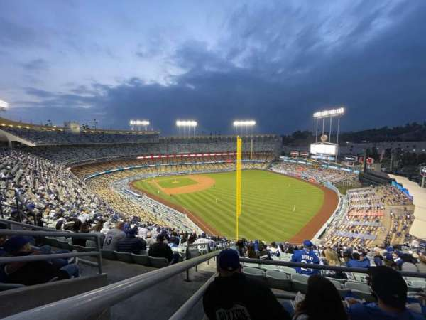 Dodger Stadium, section: 50RS, row: CC, seat: 16