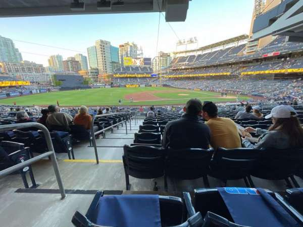 PETCO Park, section: 112, row: 38, seat: 18
