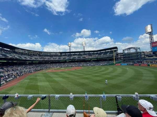 PNC Park, section: 143, row: C, seat: 6