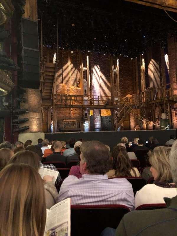 CIBC Theatre, section: ORCH-L, row: L, seat: 15